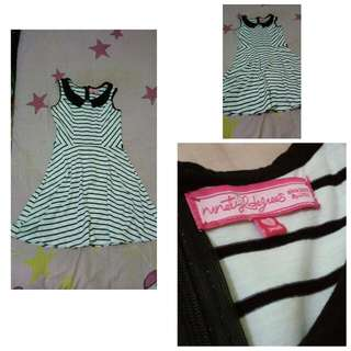 Stripe Dress. Size S