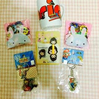 🚗代售🚗任天堂馬力歐主題人物限量系列商品:馬克杯/徽章/鑰匙圈