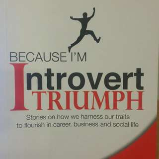 """Book """"Because I'm Introverted Triumph"""""""