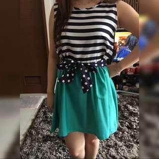 tosca striped dress