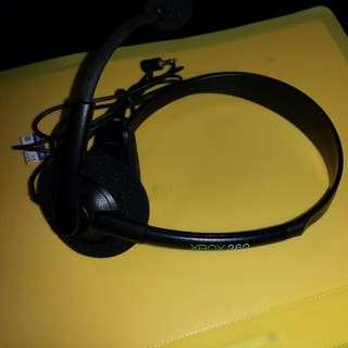 Xbox 360 Controller Headset