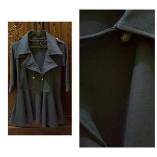 Coat Blazer Dark Grey