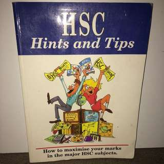 HSC Hints And Tips