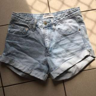 ASSEMBLY LABEL LOW RISE SHORTS