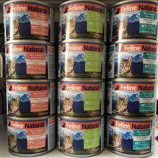 Feline Natural Canned 170gm - $4.65