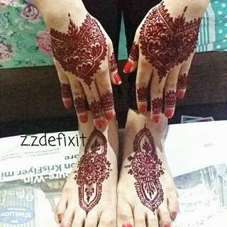 Henna / Inai Booking For 2017