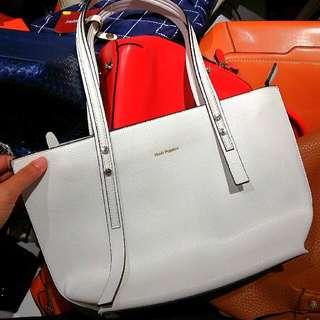 ORI HUSH PUPPIES White Mini Bag Discount 40%