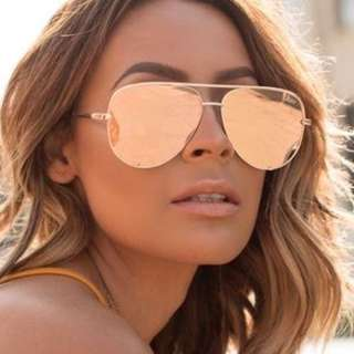 Quay High Key Rose Gold Sunglasses - Sold Out Online!