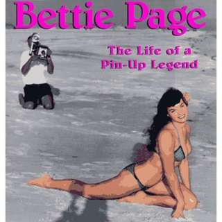 Bettie Page: The Life Of A Pin Up Legend Book Rockabilly Vintage Style Dita Von Teese