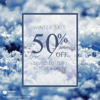 Winter Sales! up to 50% off on selected items!