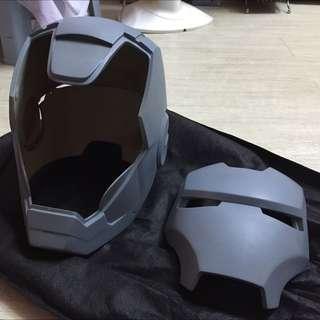 Iron Man 1:1 頭盔可戴未上色原品