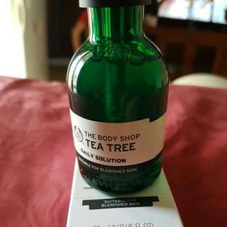 BODY SHOP DAILY SOLUTION