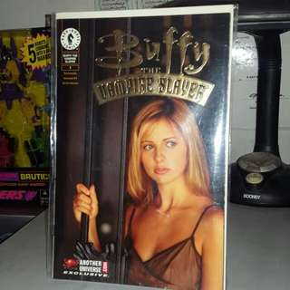 Rare Gold Foil #1 Buffy The Vampire Slayer Comic