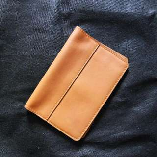 (REPRICE) Leather Passport Wallet