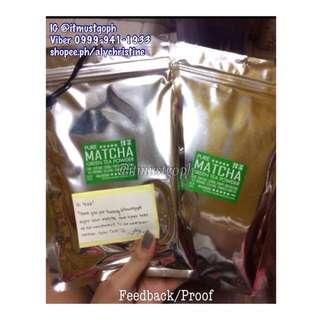 WHOLESALE 50 Packs Pure Matcha Green Tea