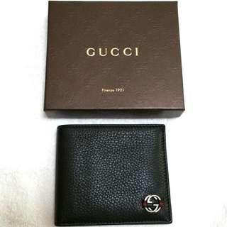 BN Authentic Gucci Ace ID Men's Wallet