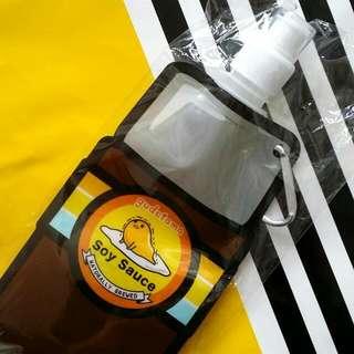 (已送出) Gudetama 梳乎蛋 蛋黃哥 Water Bottle Bag 水樽袋