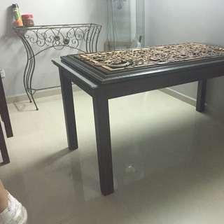 Dining table - Teak Wood From Laycon Furniture
