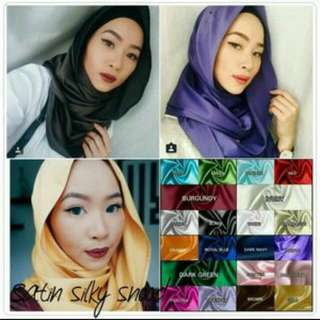 Satin Maxi Snood