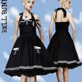 Hell bunny sailor Pinup Rockabilly Dress