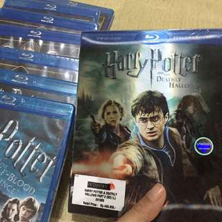 Harry Potter Blu-ray Disk All Series
