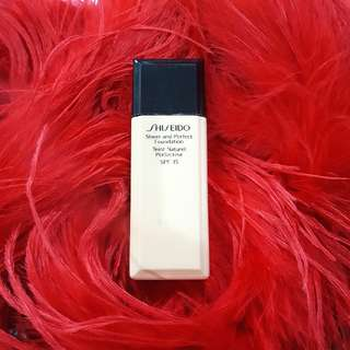 SHISEIDO FOUNDATION SHEER AND PERFECT