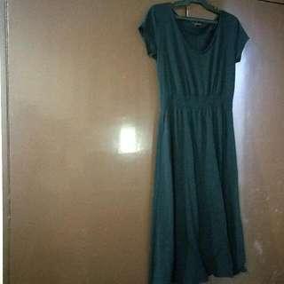Authentic Uniqlo Black Dress