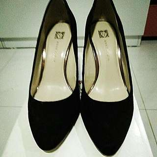 Dark Brown Anne Klein Shoes