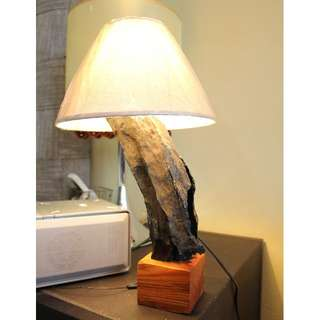 Artistic Inspired Wooden Table Lamp