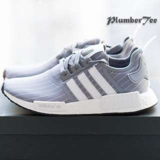 Men US 9.5 | 10 Adidas Original NMD R1 x Bedwin Grey Ftwr White