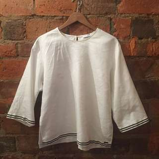 Camilla And Marc White Top - Set