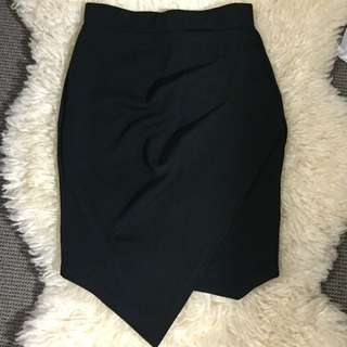 Black Work Or Party Skirt