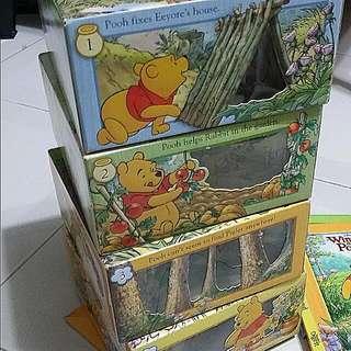 Winnie The Pooh Storyblock & 2 Story Book