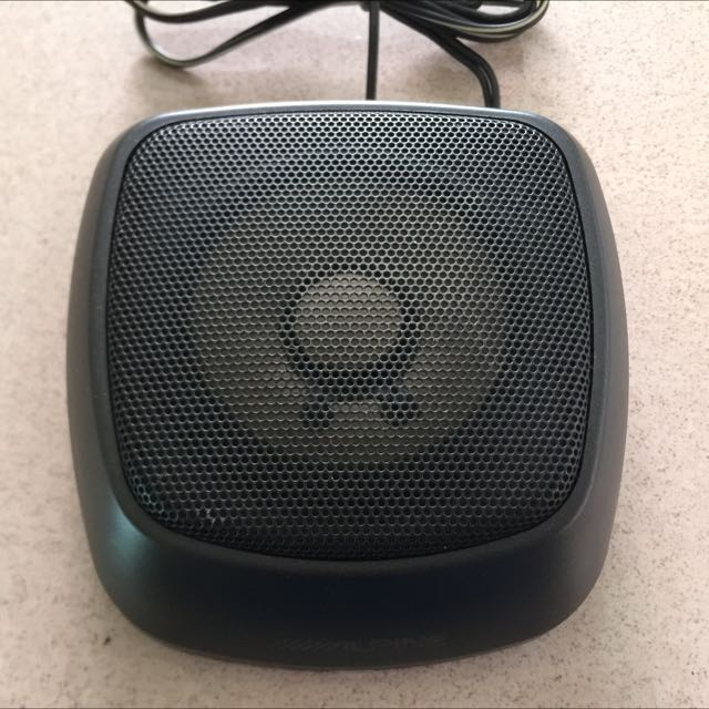 1 Used Alpine Car Center Speaker Car Accessories On Carousell