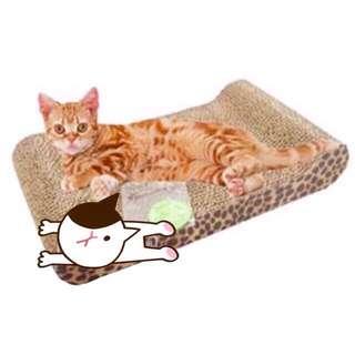 貴妃沙發貓抓板🐈貓體工學設計/貓抓屋/瓦愣紙