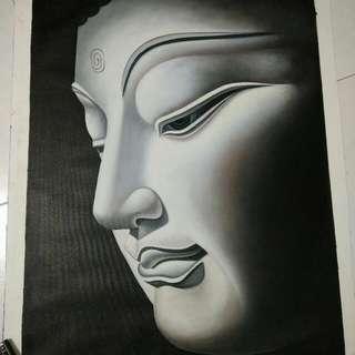 Brand New Portrait Of Buddha