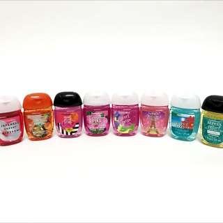 Baht & Body Works  BBW  PocketBac 迷你隨身瓶乾洗手液(新包裝) 多種香味任選一瓶 anti-bacterial hand gel