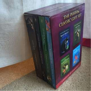 The Puffin Classic Gift Set | FOUR CLASSIC NOVELS INCLUDED