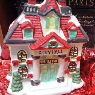 聖誕陶瓷屋
