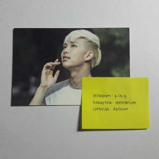 BTS 2nd Muster Zip Code 17520 Photocard (Rap Monster) Number 3