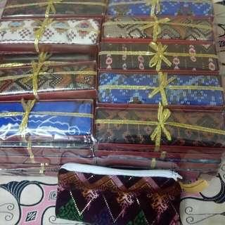 Dompet batik resleting