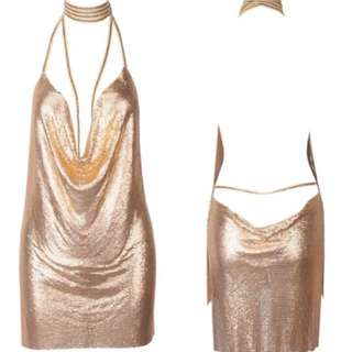 GOLD Posie Dress, Love Story Boutique