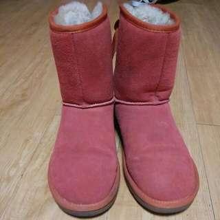 橘紅色雪靴#你喜歡我送你