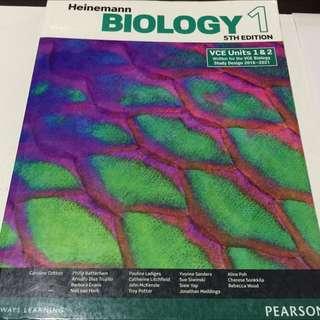 Heinemann Biology 1 - 5th Edition