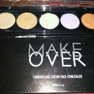 Make Over Camouflage Cream Face Concealer