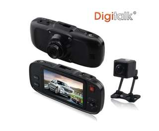 Dual Camera In-Car Digital Video Recorder (DVR)