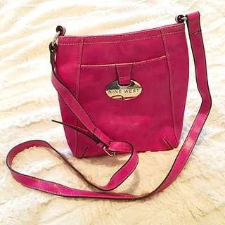 Nine West Crossbody Bag - Fuchsia