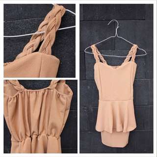 Peplum Dress (imported Bangkok)