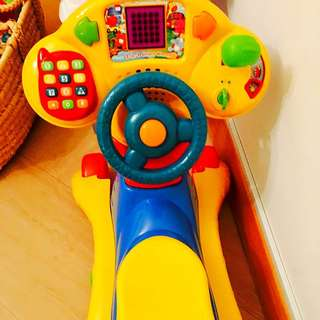 V Tech Baby Push Scooter
