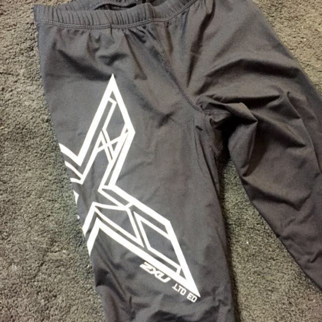 2XU Limited Edition Tights Black/White MT